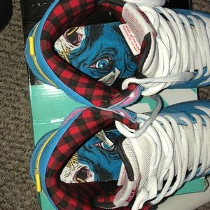 Nike Shoes - Nike Dunk High Premium SB BLUE OX La Familia